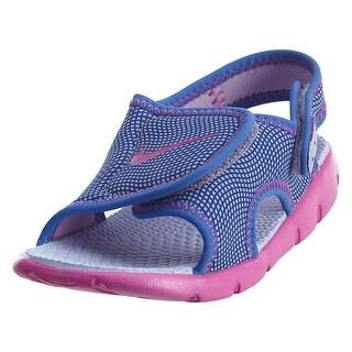 New Nike Baby Girl's Sunray Adjust 4 Sandal #386521-504 (Option: 6)