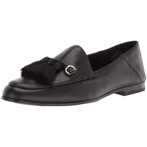 Nine West Women's Weslir Leather Loafer Flat - 6.5