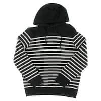 Polo Ralph Lauren Mens Hooded Sweater Striped Modal Blend
