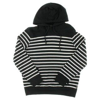 Polo Ralph Lauren Mens Hooded Sweater Striped Modal Blend