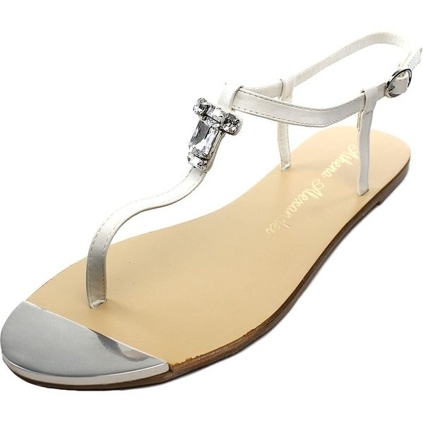 6492dd3b0 Shop Athena Alexander Midtown Women Open Toe Synthetic White Thong ...