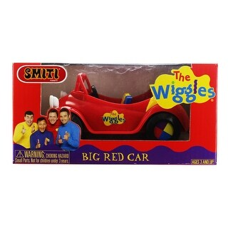 "The Wiggles SMITI 3"" Mini Figure Vehicle: Big Red Car - Multi"