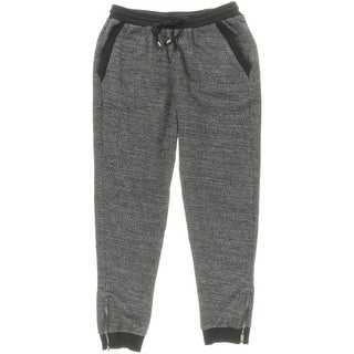 Splendid Womens Marled Drawstring Athletic Pants