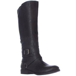 SC35 Lolah Ankle Strap Riding Boots, Black|https://ak1.ostkcdn.com/images/products/is/images/direct/999ac9dfab90b6b90dc0b33d0047989683b424c7/SC35-Lolah-Ankle-Strap-Riding-Boots%2C-Black.jpg?impolicy=medium