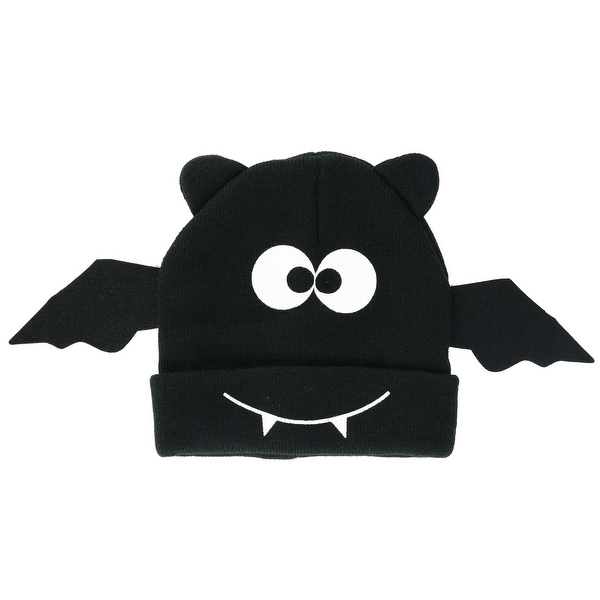 74ed82cdae0 Shop David   Young Women s Bat Wings Beanie Novelty Hat - Free Shipping On  Orders Over  45 - Overstock - 23563210