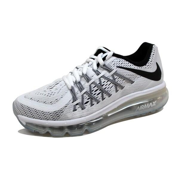 online retailer 0df62 1c8a7 Nike Grade-School Air Max 2015 White Black 705457-103