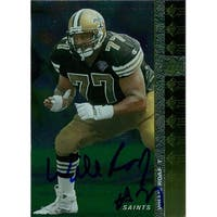 Signed Roaf William New Orleans Saints 1994 Upper Deck Football Card autographed