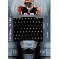 Signed Caldwell Andre Cincinnati Bengals Andre Caldwell 2008 Leaf Certified Materials Unsigned Foot
