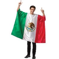 Rasta Imposta Mexico Flag Tunic Adult Costume - Solid - one-size