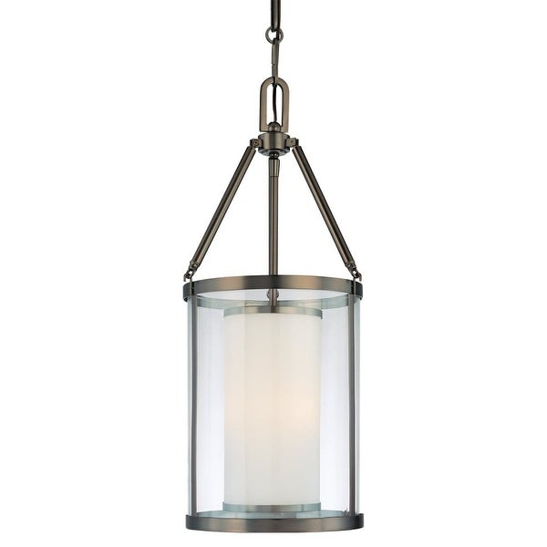 Minka Lavery 4367 3 Light Indoor Full Sized Pendant from the Harvard Court Collection - harvard ct bronze