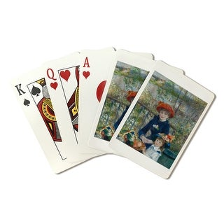 Two Sisters (Renoir) c. 1881 - Masterpiece Classic (Poker Playing Cards Deck)