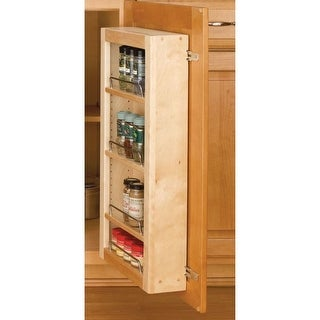 """Rev-A-Shelf 4WDP18-57 4WP Series 57"""" Door Unit Single Base Pantry with Hardware - N/A"""