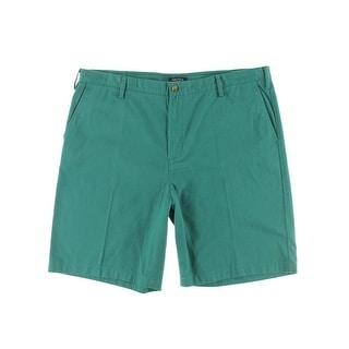 Nautica Mens True Khaki Short Twill Classic Fit Casual Shorts