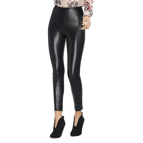 Vince Camuto Womens Pleather Casual Leggings