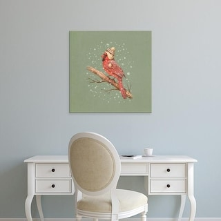 Easy Art Prints Terry Fan's 'First Snow' Premium Canvas Art