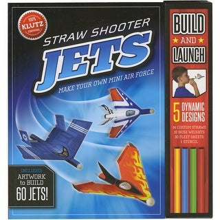 Straw Shooter Jets Book Kit-