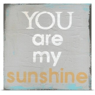 Cassandra Cushman Poster Print entitled You Are My Sunshine