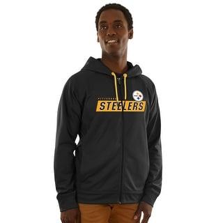 Pittsburgh Steelers Game Elite Zip-up Hoodie