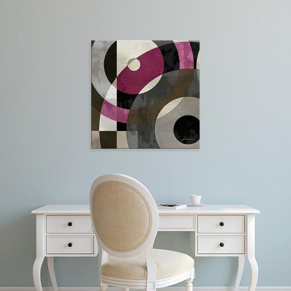 Easy Art Prints James Burghardt's 'Concentric Squares I' Premium Canvas Art