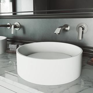 Link to VIGO Anvil Matte StoneTM Vessel Bathroom Sink Similar Items in Sinks