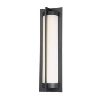 """WAC Lighting WS-W45720 Oberon Single Light 20"""" High Integrated LED Outdoor Wall Sconce"""