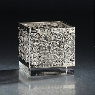 Diamond Star 53038-1 4 x 4 x 4 in. Square Glass Clear