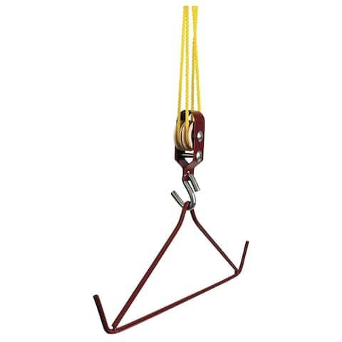 Allenac 1811 Gambrel and Hoist Kit, 500 lbs Load Capacity