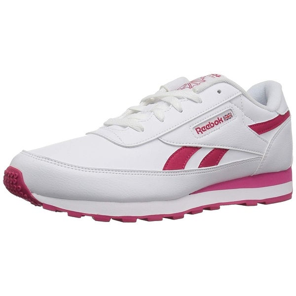 d17bf7c37c0f Shop Reebok Womens Renaissance Leather Low Top Lace Up Running ...