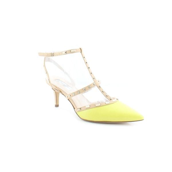 INC Carma2 Women's Heels Yellow