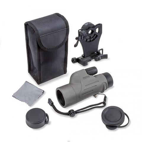 Carson mp-842is carson 8x 42mm waterproof monocular w smart phone adapter bundle