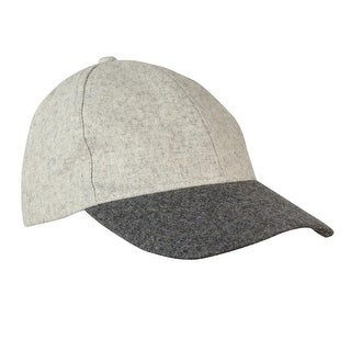 August Accessories Women's Two Tone Baseball Cap - os