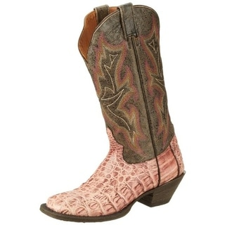 Stetson Womens Leather Distressed Cowboy, Western Boots