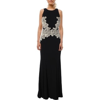 Xscape Womens Formal Dress Embroidered Shimmer