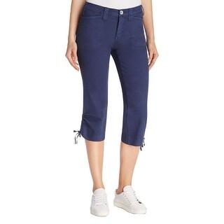 NYDJ Womens Abby Capri Pants Slimming Everyday