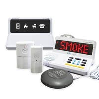 Sonic Alert SA-HA360KIT3 HomeAware Fire Safety Value Alert Package