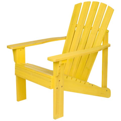 Vineyard Wood Ergonomic Adirondack High Back Chair