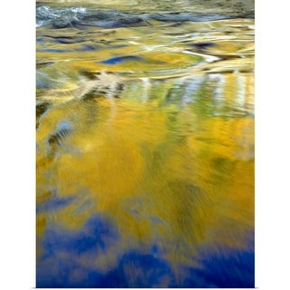 """""""Water Abstract"""" Poster Print"""