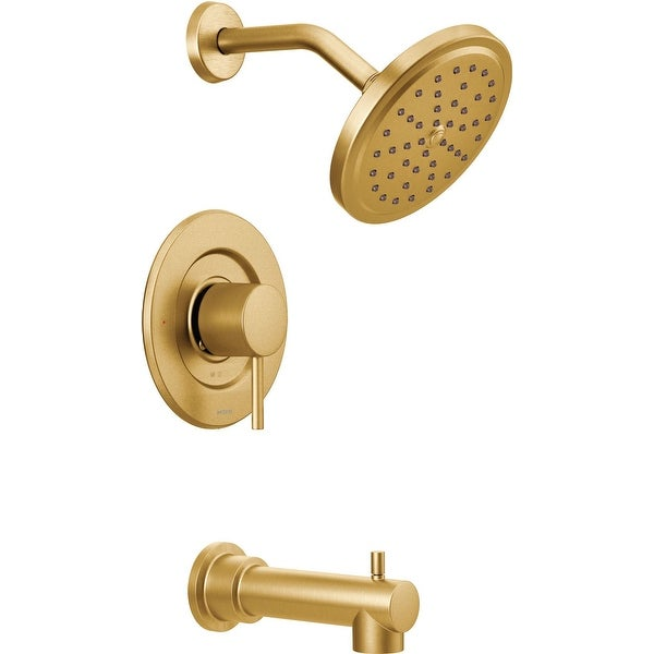 Moen T3293 Moentrol Pressure Balanced Tub and Shower Trim with 2.5 GPM Shower Head, Tub Spout, and Volume Control from the
