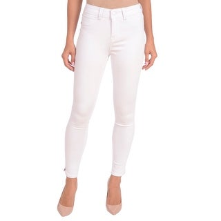 Lola Jeans Arianna-WHT, High Rise Ankle With 4-Way Stretch