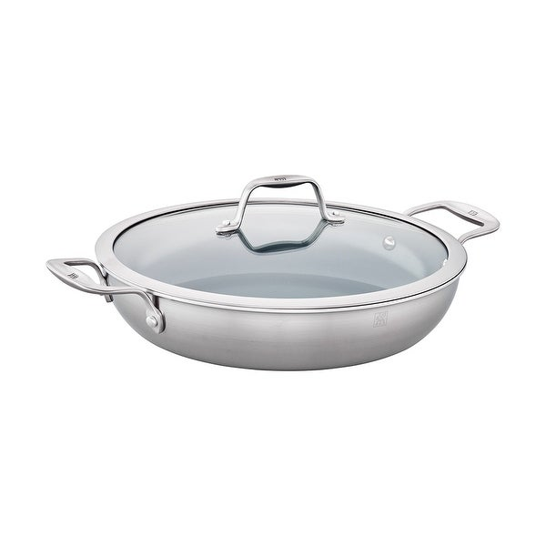 Shop Zwilling Spirit 3 Ply 4 Qt Stainless Steel Ceramic