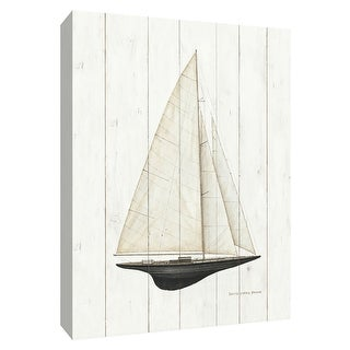 "PTM Images 9-154835  PTM Canvas Collection 10"" x 8"" - ""Sailboat II"" Giclee Sailboats Art Print on Canvas"