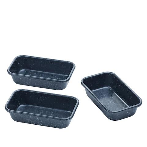 Curtis Stone Dura-Bake Set of 3 Mini-Loaf Pans Model 689-189