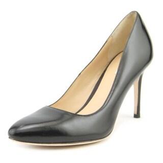 Cole Haan Bethany Women Round Toe Suede Black Heels