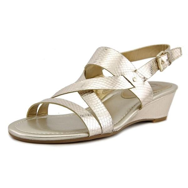 c9b8660763f Shop Chaps Reesa Open-Toe Leather Slingback Sandal - Free Shipping ...