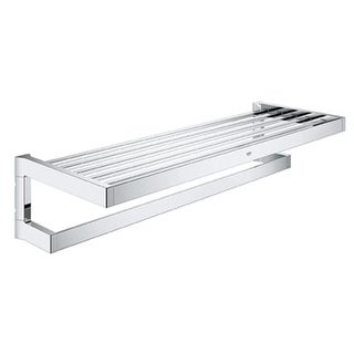 Grohe 40 804 Selection Cube Towel Rack - n/a