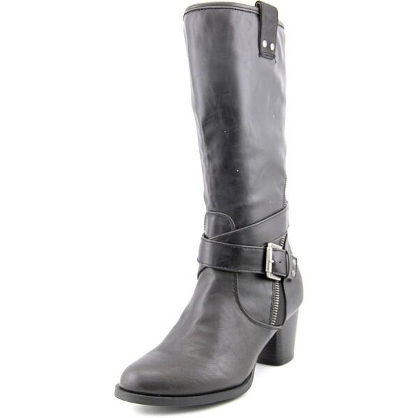 Rialto Caparella Women Round Toe Synthetic Mid Calf Boot
