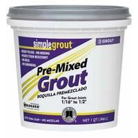 Simplegrout PMG122QT Pre-Mixed Grout Linen Qt