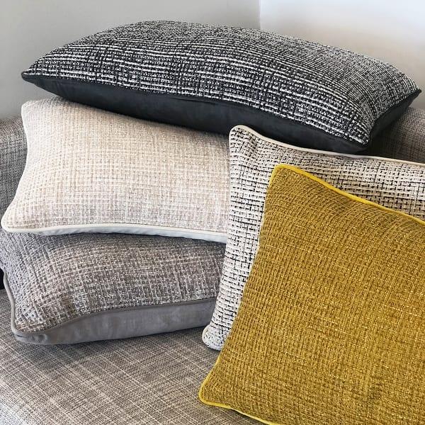 Shop Rodeo Home Tamar Modern Rectangular Lumbar Pillow Cover Insert Overstock 31497971