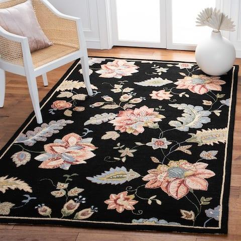 SAFAVIEH Hand-hooked Chelsea Joana Country Oriental Wool Rug