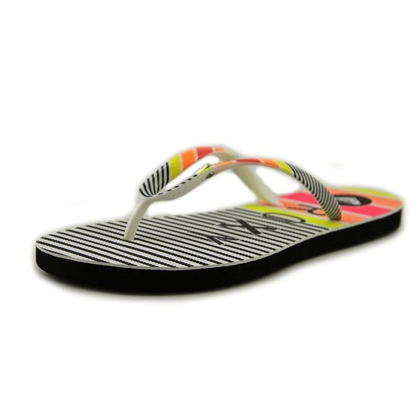 Roxy Mai Tai IV Women Open Toe Synthetic Multi Color Flip Flop Sandal